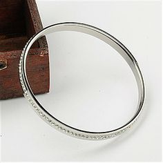 Fashion Stainless Steel Jewelry Bangles