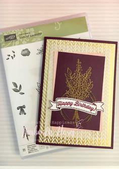 Recreating Happiness: Sale-A-Bration 2018 - Lots of Lavender Stamp Set Sneak Peak