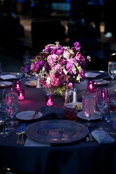 Wedding ideas - purple wedding - purple wedding flowers - Florals by The Special Event Florist - Donnell Probst Photography - donnellprobst.com - Pinspotting by Exclusive Events, Inc.