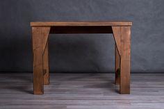 Locust table with minimalistic design | Rustic furniture, rustic design, rustic home