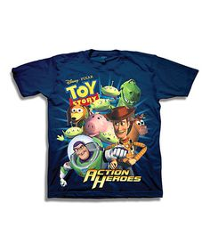 Love this Navy Toy Story Tee - Boys on #zulily! #zulilyfinds