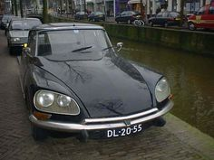 Citroën DS - one I saw in Delft