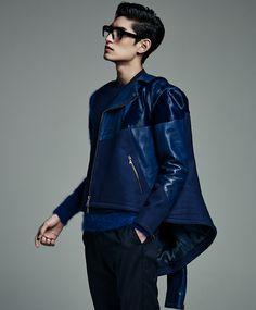 Kim Tae Hwan by Yoo Younggyu for L'Officel Homme Korea Oct 2013 #taehwan #korean #model