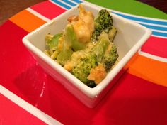Cheese Finger Foods for Babies & Toddlers - Cheesey Crumbly Broccoli Casserole | Wholesome Baby Food