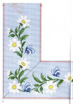 punto croce fiori - Szukaj w Google