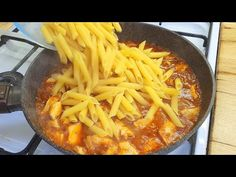 rychlý a snadný recept na těstoviny na večeři, vařte těstoviny na pánvi # 157 - YouTube Pasta Recipes, New Recipes, Le Diner, Italian Pasta, How To Cook Pasta, Wok, Quick Easy Meals, Pasta Dishes, Dinner
