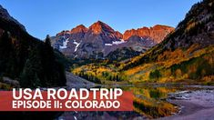 FALL COLORS COLORADO ROCKIES: Fall Foliage Maroon Bells, Hanging Lake, Million Dollar Highway - YouTube Silverton Train, Twin Lakes, Aspen Trees, Colorado Rockies, Road Trip Usa, Beautiful Places, Tours, Explore, Fall