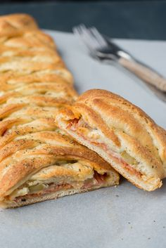 Stromboli, lekker met een tomatensoepje of wortel/pompoemsoep
