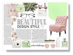 """""""- 10"""" by happyermil ❤ liked on Polyvore featuring interior, interiors, interior design, home, home decor, interior decorating, Ray-Ban, Crate and Barrel, Christian Dior and Home Decorators Collection"""