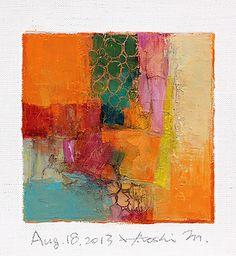 Hiroshi Matsumoto                                                                                                                                                                                 More Contemporary Abstract Art, Modern Art, Oil Painting Abstract, Small Art, Online Art, Buy Art, Medium Art, Beaux Arts, Collage Art