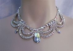 Picture of Ballroom Crystal Victorian Necklace
