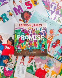 NBA champion and cultural icon LeBron James pens a slam-dunk picture book inspired by his foundation's I PROMISE program that motivates children everywhere to always #StriveForGreatness.  📸 @ljfamfoundation School Tool, Slam Dunk, Nba Champions, I Promise, Lebron James, Cool Kids, Cool Pictures, Picture Books, Motivation
