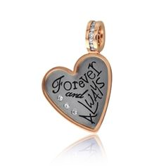 Reis-Nichols Jewelers : Heather Moore Diamond Heart Charm