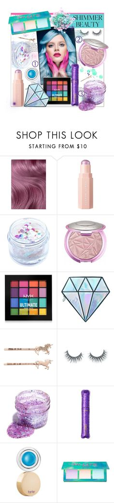 """""""Shimmer Beauty: Unicorn Shine"""" by bitty-junkkitty ❤ liked on Polyvore featuring beauty, Lime Crime, In Your Dreams, NYX, Unicorn Lashes, LC Lauren Conrad, Trash Cosmetics, tarte and The Gypsy Shrine"""