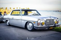 Mercedes W114, Old Mercedes, Classic Mercedes, Mercedes Benz Cars, Cool Old Cars, Benz S, Custom Cars, Motor Car, Cars And Motorcycles