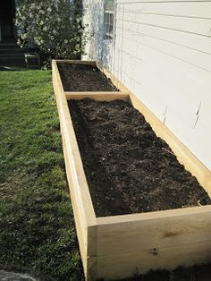 Raised Flower Bed Along Fence What is the best wood to use for raised garden beds