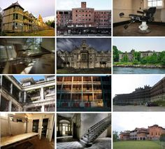 12 Unnerving Abandoned Asylums and Sanatoriums