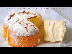 Japanese Iced Cheese Chiffon Cake - YouTube Cake Youtube, Japanese Food, Japanese Recipes, Chiffon Cake, Pastry Cake, Let Them Eat Cake, Cheesecakes, Sweet Tooth, Good Food