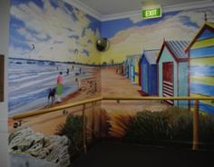 Tailored Artworks: Murals for Dementia homes, fantastic work by Sharron Tancred