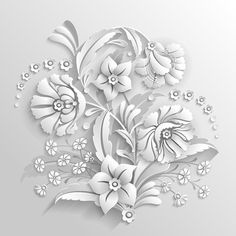 Find Bouquet Decorative Flowers Made White stock images in HD and millions of other royalty-free stock photos, illustrations and vectors in the Shutterstock collection. Flowers Background, Textured Background, 3d Pattern, Pattern Images, Butterfly Photo Frames, Page Frames, Stone Carving, Wood Carving, White Stock Image