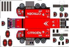 papercraft racing trucks   1995 mercedes n°529 - Maquette Dakar