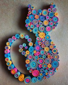Quilling: Do you know what it is, how it works and - Quilled Paper Art Paper Quilling Patterns, Quilling Paper Craft, Paper Crafts Origami, Paper Crafting, Quilling Ideas, Origami Art, Craft With Paper, Quiling Paper, Paper Quilling Tutorial