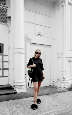 All Fashion Beauty, Fashion Looks, Womens Fashion, Spring Fashion, Winter Fashion, Minimal Fashion, Minimal Style, Total Black, All Black Everything