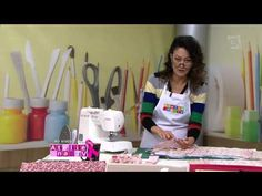 Ateliê na TV - TV Gazeta - 23.10.15 - Patricia Washhington - YouTube