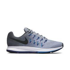 new style 12e9b f4ea6 Nike Men s Air Zoom Pegasus 33 - Wolf Grey Dark Grey Photo Blue (