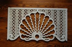 "Antique Victorian c1860 Rare ""Barley Twist"" Fretwork Spandrel"