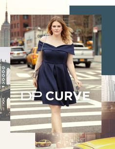 DP curve goes stateside. Get some #plussizeoutfit ideas by checking out the collection.