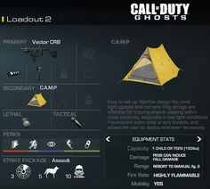 COD Ghost--Camping Class