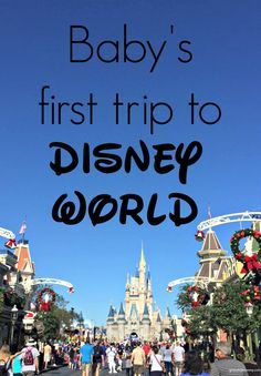 Baby's first trip to Disney World. Great tips and ideas on what to do with a baby at Disney. http://Gracefulmommy.com
