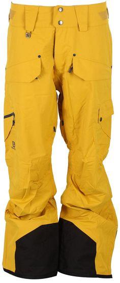Salomon Zero Ski Pants Dusty Sun-X