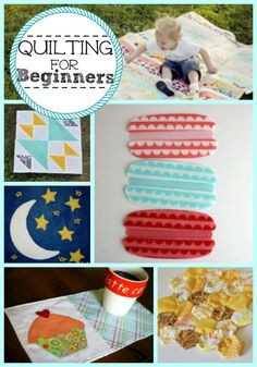 21 Simple Quilt Patterns: Quilting for Beginners | Give quilting a shot with these beginner quilt projects!