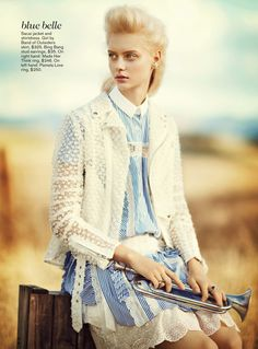 on the road: nastya kusakina by boo george for teen vogue march 2013   visual optimism; fashion editorials, shows, campaigns & more!