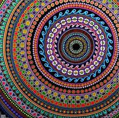 Mandala la vida pasa por el color!! #vida #color @Ana G. G. Victoria Lagos @Patricia Smith Gagnon Mena @Patricia Smith Smith Gallardo
