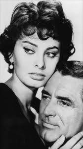 Sophia Loren and Gary Grant
