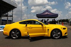 ecoboost mustang | 2015 Ford Mustang EcoBoost 2.3 First Ride Photo Gallery love this yellow.