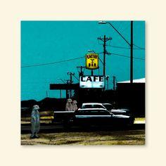 """Weiteres - """"Wo ist das UFO bitte?"""", somewhere, Arizona - ein Designerstück von Gabriele--Prill bei DaWanda"""