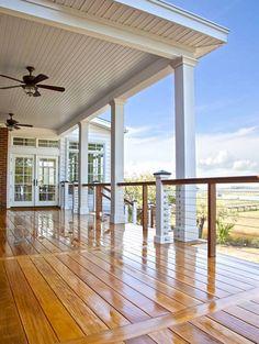 Cedar decking. An outdoor sanctuary isn't complete without a Western Red Cedar Deck