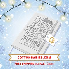 Cotton Babies Gift Series Strong Journal