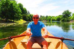 Rowing in the Bois de Boulogne