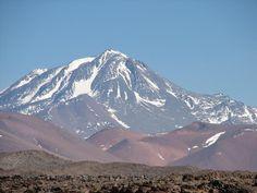 Volcán Llullaillaco, Argentina/Chile.