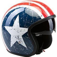 Viper RSV06 U.S. Star moto casque ouvert