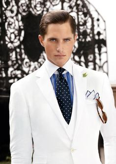 Ralph Lauren Purple Label Men's Fashion | Menswear | Men's Outfit for Spring/Summer Weddings or Special Events | Sharp and Sophisticated | Moda Masculina | Shop at designerclothingfans.com