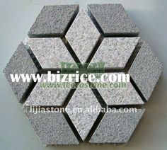 Hexagon Paving Stone,mesh Cube, Garden Lanscape.