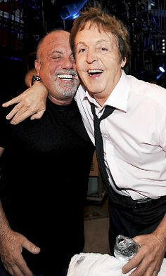 Billy and Paul' love this pic of my two musical heroes together