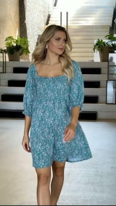 Summer Outfits Women, Summer Dresses, Cool Outfits, Casual Outfits, Fashion Dresses, Fashion Clothes, I Dress, Casual Looks, Skinny