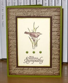 Simple Sympathy by Christy S. - Cards and Paper Crafts at Splitcoaststampers